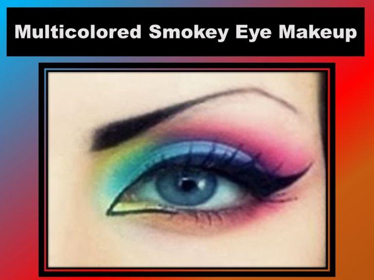multi-colored-smokey-eyes-makeup