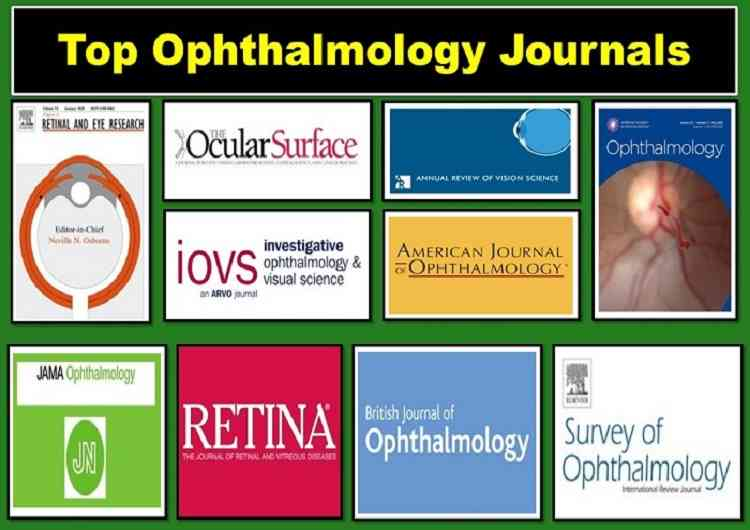 top-ophthalmology-journals