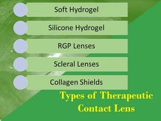 types-of-bandage-therapeutic-contacts